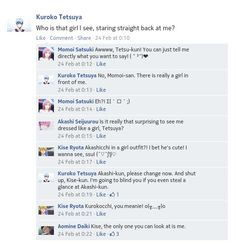 From Mulan to KuroMomo to AkaKuro to crossdressing Akashi to KiAka to yandere Kuroko then to AoKi. Okaaaayyyy.