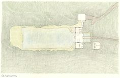 of Newberg Residence / Cutler Anderson Architects - 13 Newberg Residence,Site PlanNewberg Residence,Site Plan Wooden Cabins, Wooden House, Oregon Wine Country, Covered Walkway, Box Houses, Dream Houses, Site Plans, Prefab Homes, House And Home Magazine