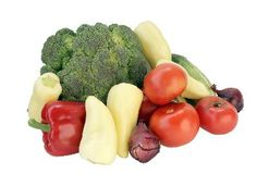 Ingredients for Fresh Healthy Vegetable Smoothies