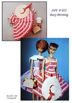 DIY Barbie Vintage Dress Pattern