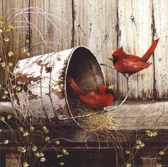 John Rossini artwork on paper prints, canvas and wood from Penny Lane Publishing. Bird Pictures, Pictures To Paint, Pretty Birds, Beautiful Birds, Beautiful Drawings, Wall Art Prints, Fine Art Prints, Framed Artwork, Decoupage