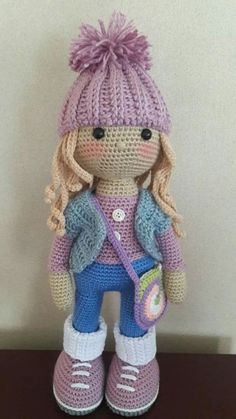 Amigurumi Molly & Kelly Doll Crochet Free Patterns - Crochet ... | 419x236