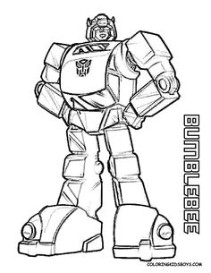 Printable Coloring Pages For Boys Transformers -to send home with kids Bee Coloring Pages, Boy Coloring, Coloring Pages For Boys, Colouring Pics, Printable Coloring Pages, Coloring Sheets, Coloring Books, Free Coloring, Transformers Bumblebee