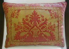 Fortuny vintage pillow