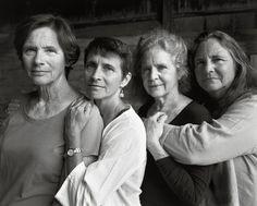 2014.Nicholas Nixon fotografa as irmãs Brown