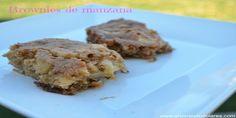 Cómo preparar brownies de manzana