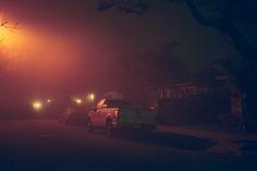 Franck Bohbot's Portfolio - Tialid, street at night #cars