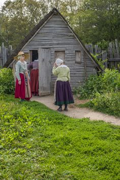 17 Century Re-enactment at Plimoth Plantation, Plymouth, MA