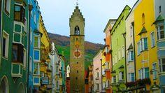 Vipiteno, Bolzano, Trentino Alto Adige - 20 real life fairy tale places in Italy Top Vacation Destinations, Italy Destinations, Italy Vacation, Italy Travel, Italy Trip, Best Places In Italy, Cool Places To Visit, Places To Travel, Places To Go