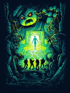 Ghostbusters 30th Anniversary Dan Mumford Are You a God? Poster Release