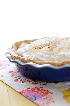 Coconut Cream Pie from Annie's Eats. This always screams Easter to me but no one in my family would try it. :( I LOVE coconut!