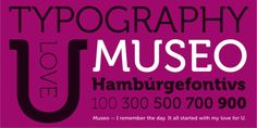 Museo™ font download
