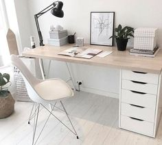 Home Office Space, Home Office Design, Home Office Decor, Small Office, Small Room Bedroom, Room Ideas Bedroom, Home Decor Bedroom, Study Room Decor, Aesthetic Bedroom