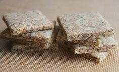 Grain-free Everything Crackers (gluten, dairy and egg-free, paleo)
