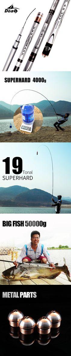 DOAO 3.6M 4.5M 5.4M Fishing Rod Carbon high quality material Telescopic Rod Sea fishing Rod Taiwan Fishing Rod For big carp Fish