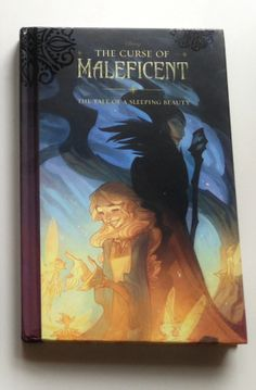 The Curse of Maleficent -strange book we found at Barnes and Noble, about the villainess controlling Disneyland park.