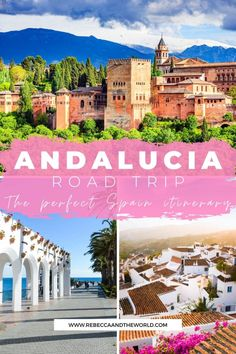 Discover the best of Andalucia with this 8-day southern Spain itinerary. Click through to read this road trip guide which includes the best things to do in Andalusia, Spain. Visit Granada, Nerja, Ronda, Seville and Cordoba and explore the beauty and delicious food of this region. | #spain #andalucia #andalusia #granada #seville #ronda #cordoba Europe Travel Tips, Spain Travel, Travel Usa, Travel Guides, Travel Destinations, Portugal Travel, Andalusia Spain, Andalucia, Road Trip Hacks