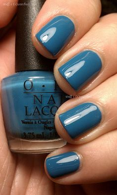 opi- suzi says feng shui Make an appointment now for a fresh mani and pedi! Gorgeous Nails, Pretty Nails, Manicure Y Pedicure, Mani Pedi, Nail Time, Nail Polish Colors, Opi Blue Nail Polish, Colorful Nail Designs, Nail Accessories