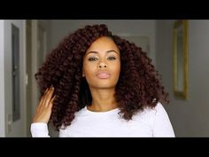 Natural Hair Crochet Braids ~ No cornrows! No Leave- out! New Method! [Video] - Black Hair Information