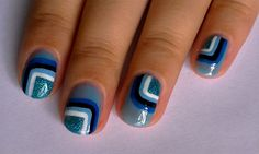 Vintage Wallpaper Inspired - Nail Art Gallery by NAILS Magazine