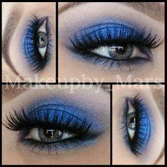 #rockeresque tear drop #anastasiabeverlyhills covet waterproof eyeliner in Noir and CREME 62 &138 lashes - @makeupby_mars
