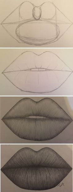 Guide Lines for lips by Larissa Junghans #fashionsketches,