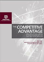 Learning how to contribute insights to your business using your organization's data...priceless.  Earn a masters degree that will give you and your organization a competitive advantage.