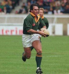 Danie Gerber (born 14 April 1958 in Port Elizabeth, South Africa) is a former South African rugby union player, who played for South Africa between 1980 and Rugby League, Rugby Players, South African Rugby, Rugby News, International Rugby, Pride And Glory, Welsh Rugby, Australian Football, All Blacks