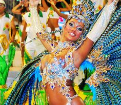 2015 | CARNAVALES DE BRASIL 2015 - Carnaval de Rio Costumes are gooorgeous for Brazil Carnival 2015