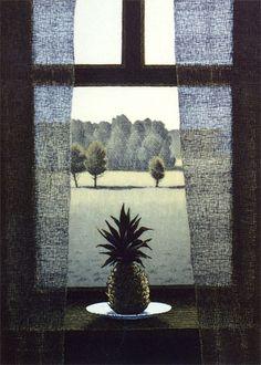 Esa Riippa ~ Kaukana, 2003 (etching)