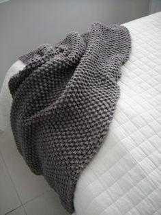 Helmineule by me: Päiväunipeitto Knitting, Diy, Knits, Fashion, Moda, Tricot, Bricolage, Fashion Styles, Breien