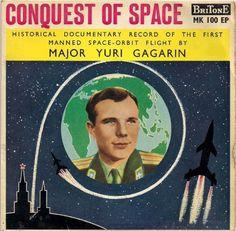 Major Yuri Gagarin - Conquest of Space (1962)