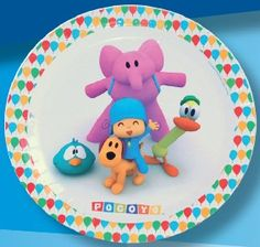 Big Pocoyo plates for the best party from $3.49. Pocoyo party supplies #pocoyo #parties  Celebrate your kid´s birthday party with the most famous animated character produced in Spain: Pocoyo. Everybody loves it! Consult our Pocoyo Party Advices and take full advantage of the celebration. It will be a real success!