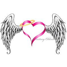 Free Printable Angels Clip Art | angel wings :. by ~courtneyoldenburg on deviantART