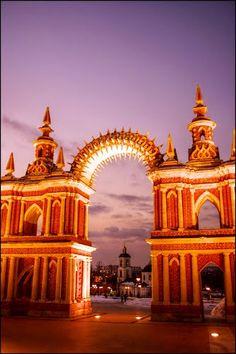 Tsaritsyno palace gate