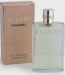 O perfume feminino Allure evoca o verdadeiro encanto de uma mulher. Atrás de uma embalagem simples e transparente, se esconde um perfume quente e sexy. É um floral oriental, com notas de cidra fresca, rosa, jasmim, baunilha e musgo de carvalho. Para mulheres românticas e sedutoras.