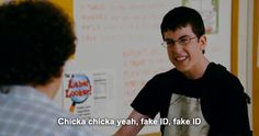 superbad and mclovin image on We Heart It Tv Quotes, Movie Quotes, Funny Quotes, Funny Movies, Great Movies, Awesome Movies, Superbad Quotes, Movies Showing, Movies And Tv Shows