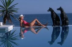Slim Aarons (via The Pursuit of Style.)