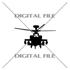 Fighter Helicopter Vector Images Vinyl by GuysAfterConception