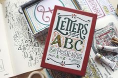 Alphabet Postcards: Letters From ABC | Abbey Sy