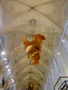 Peter Gentenaar- paper sculpture Expositie, Waanders in de Broeren, Peter Gentenaar & Pat Gentenaar-Torley Feb.9 until June 6, 2015  Zwolle, NL