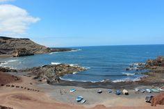 "Atemberaubender Ausblick vom ""El Golfo"" auf Lanzarote"