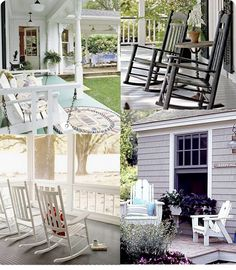 front porch love and other suggested outdoor projects to spruce up your home...