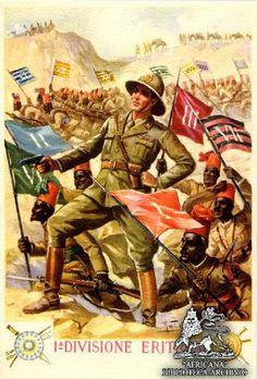 Italian  WW2  1st Eritrean Division
