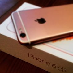 cool! #iphone6s #rosegold