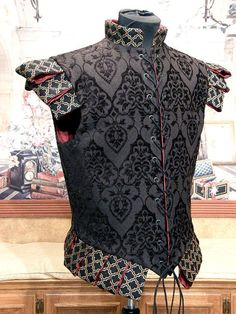 Men's Black Cavalier Renaissance Elizabethan by fairefinery, $350.00