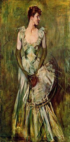 Giovanni Boldini. Countess of Leuse. Collezione Boldini. Pistoia. Italia.