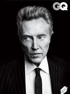 Christopher Walken Badass of the Year 2012: Men of the Year: GQ    ..Badass of every year.