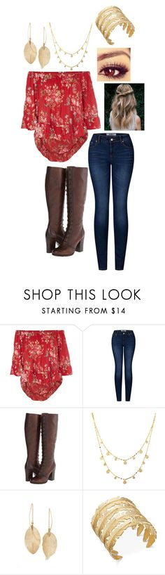 """""""Springtime"""" by totallynotanarwhal ❤ liked on Polyvore featuring Denim & Supply by Ralph Lauren, 2LUV, Frye, Lana, LULUS and INC International Concepts"""
