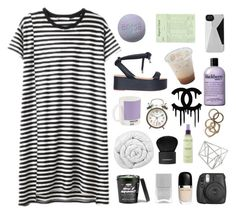 """""""THE LUSH LIFE'S GIVEN ME A RUSH"""" by burning-citylights ❤ liked on Polyvore featuring MM6 Maison Margiela, W2 Products, Nails Inc., Marc by Marc Jacobs, Brinkhaus, Topshop, philosophy, Chanel, Givenchy and Michael Todd"""